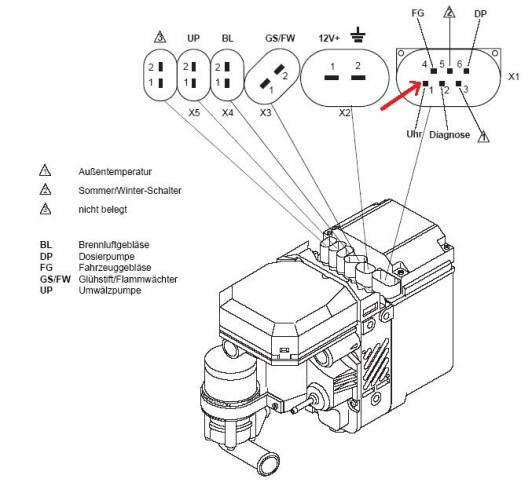 webasto wiring diagram